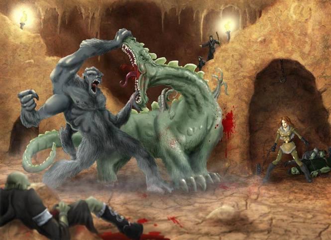Combattimento tra mostri