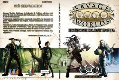 Copertina Savage Wolrs Manuale Base