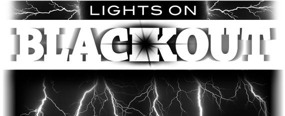 Lights on Blackout